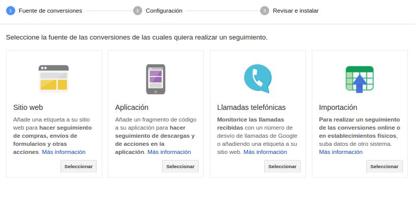 conversiones Google Adwords
