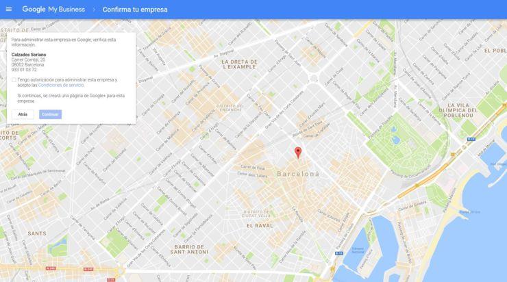 Reclama tu negocio en Google