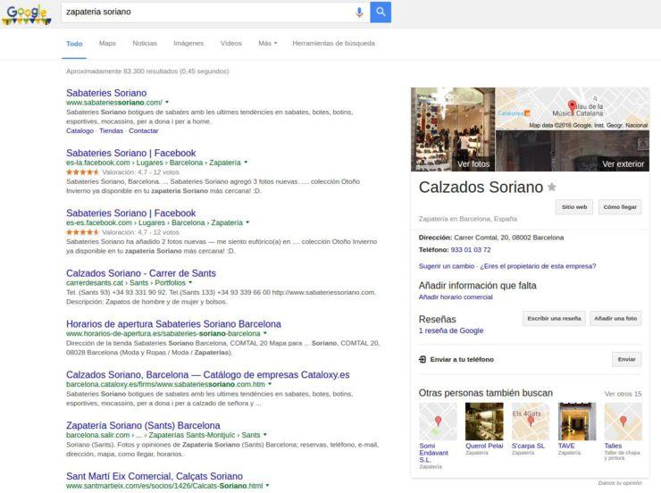 Reclamar tu empresa en Google