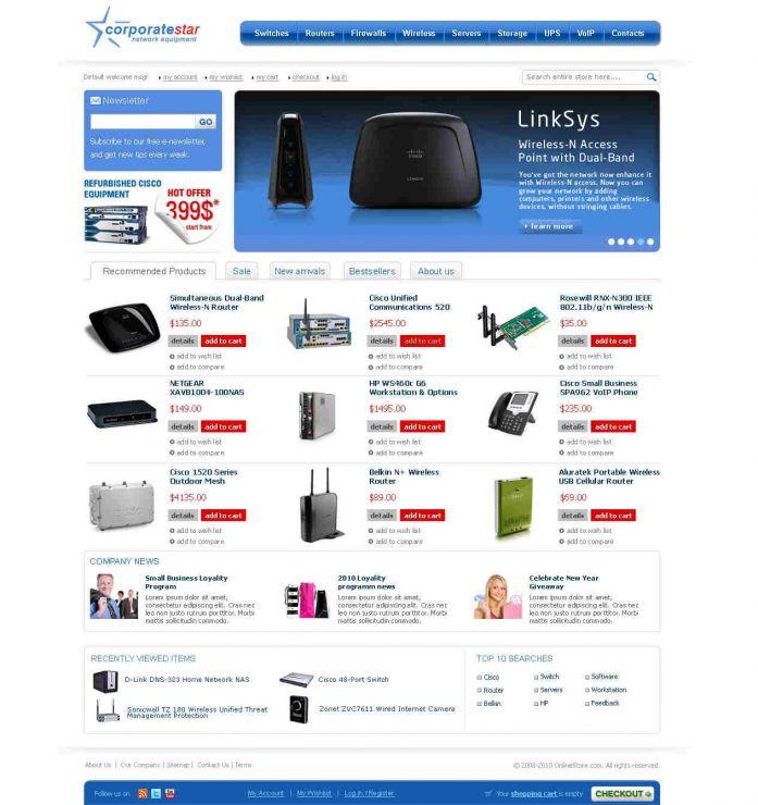 Magento tienda online template