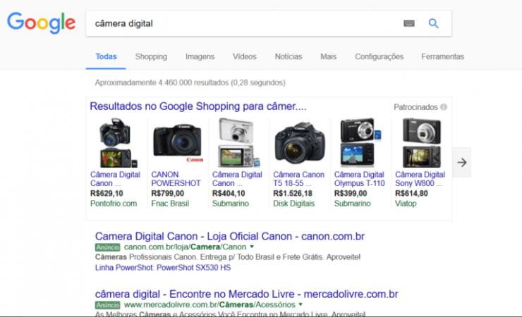 Google Shopping agencia