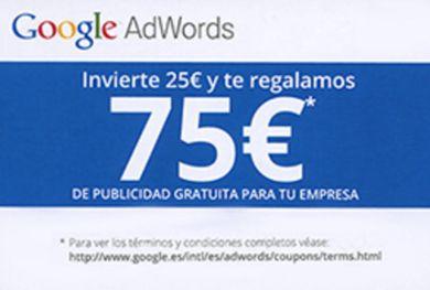 Cupones Google Adwords